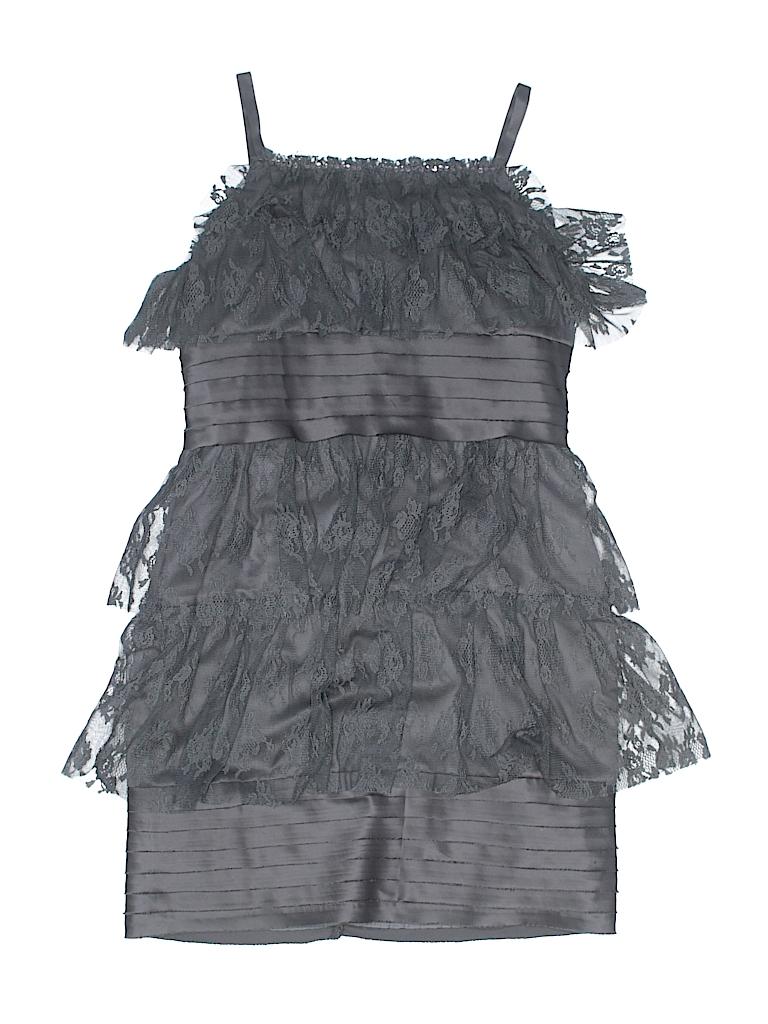 6dd421d68ac6 Biscotti Collezioni 100% Polyester Floral Lace Gray Special Occasion ...