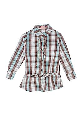 Paris Blues Long Sleeve Button-Down Shirt Size 5
