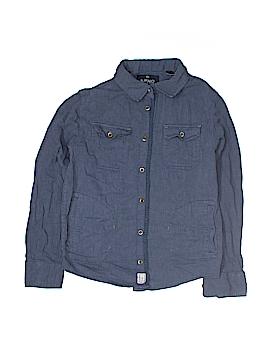 Buffalo by David Bitton Long Sleeve Button-Down Shirt Size M (Kids)