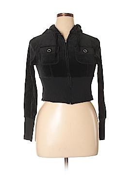 Blu Chic Zip Up Hoodie Size L