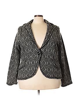 Nine West Wool Cardigan Size 3X (Plus)