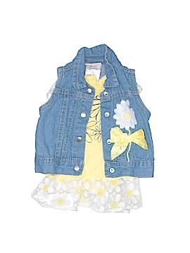 Little Lass Denim Vest Size 6-9 mo