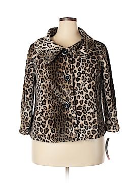 Rafaella Faux Fur Jacket Size 1X (Plus)