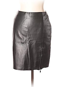Georgiou Faux Leather Skirt Size 10