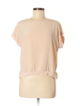 Alice + olivia Short Sleeve Silk Top Size S