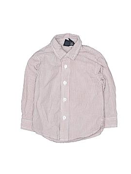 Nautica Long Sleeve Button-Down Shirt Size 18-24 mo