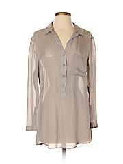 Helmut Lang for Intermix Women Long Sleeve Blouse Size S