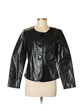 Jaclyn Smith Women Faux Leather Jacket Size M