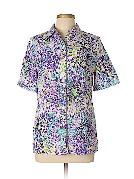 Allison Daley Short Sleeve Blouse Size 8
