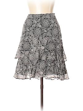 White House Black Market Silk Skirt Size 10
