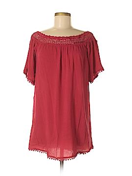 Forever 21 Short Sleeve Blouse Size M