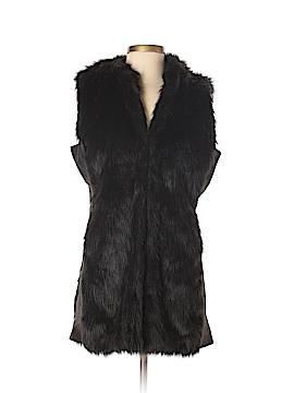 Etcetera Faux Fur Vest Size 10