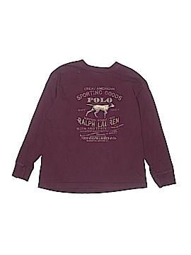 Ralph Lauren Long Sleeve T-Shirt Size 12 - 14