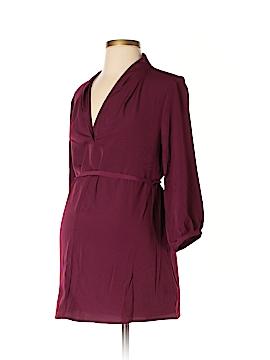 Liz Lange Maternity 3/4 Sleeve Blouse Size S (Maternity)