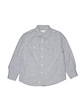 Paper Denim & Cloth Long Sleeve Button-Down Shirt Size 7