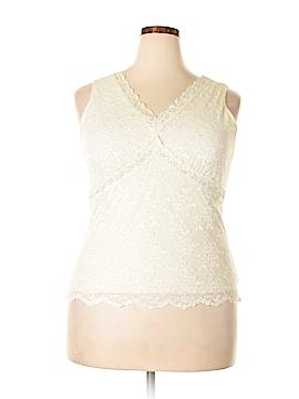 Worthington Sleeveless Top Size 1X (Plus)
