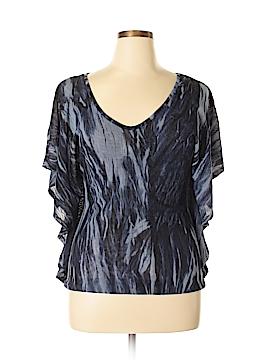Vivienne Vivienne Tam Short Sleeve Blouse Size L