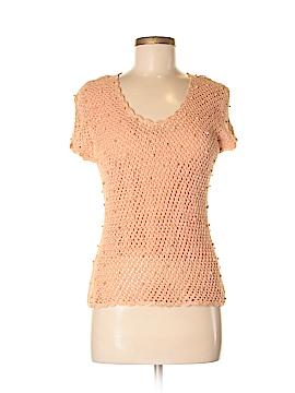 Dana Buchman Short Sleeve Blouse Size M