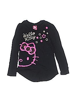 Hello Kitty Long Sleeve T-Shirt Size M (Kids)