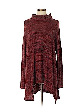 Joan Vass Long Sleeve Top Size L