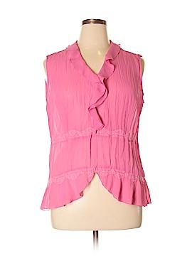 Clothing Co. Sleeveless Blouse Size L