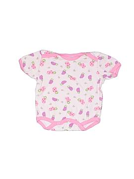 Mon Cheri Baby Short Sleeve Onesie Size 0-3 mo