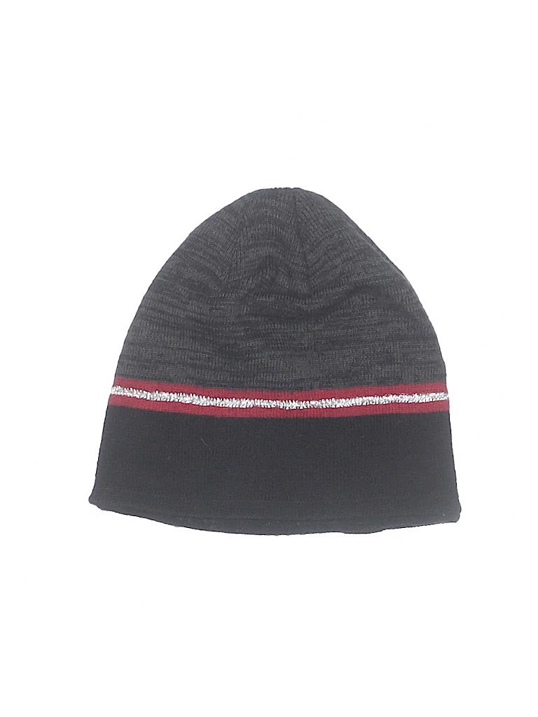 Tek Gear 100% Acrylic Stripes Black Beanie One Size - 61% off  95c6c65f55d8