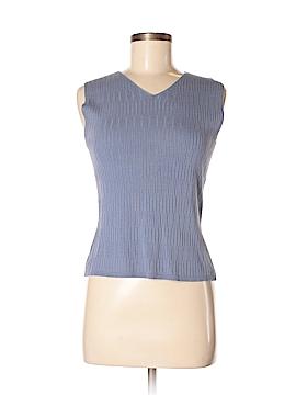 Geoffrey Beene Sport Sleeveless Silk Top Size S