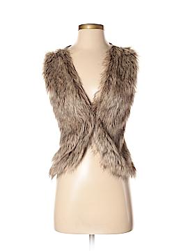 Takeout Faux Fur Vest Size S