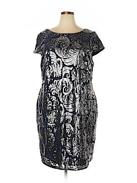Adrianna Papell Cocktail Dress Size 22w (Plus)