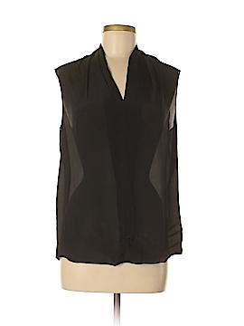 CAbi Sleeveless Silk Top Size M