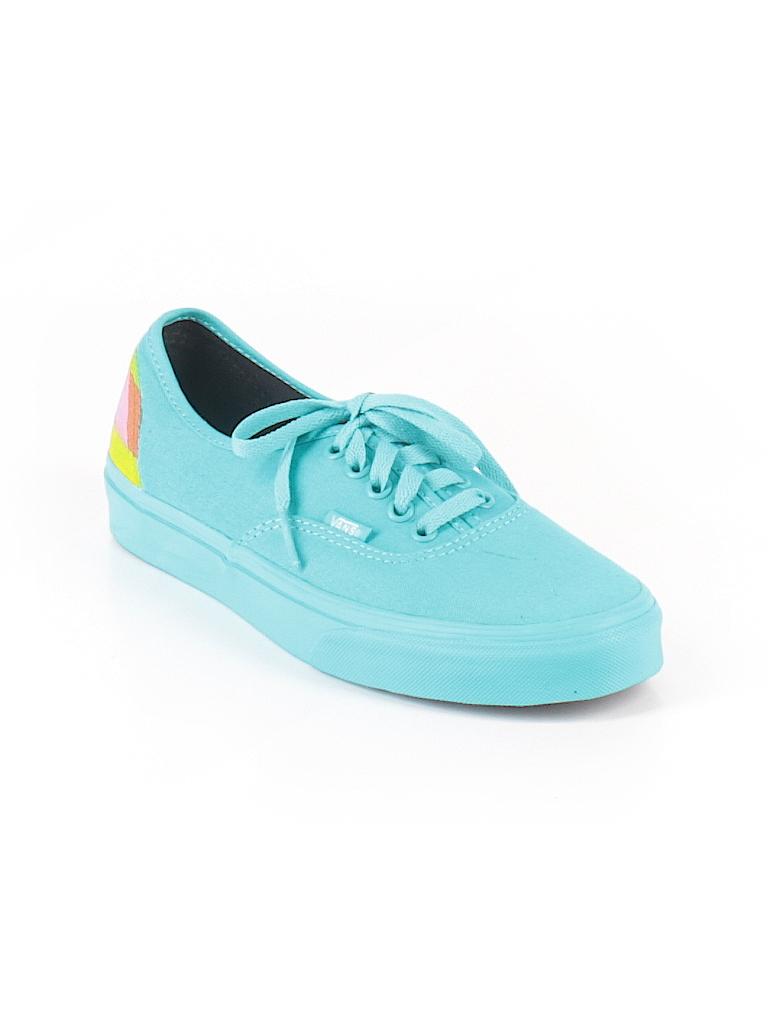 a7c13ff7c13e Vans Solid Blue Sneakers Size 9 - 60% off