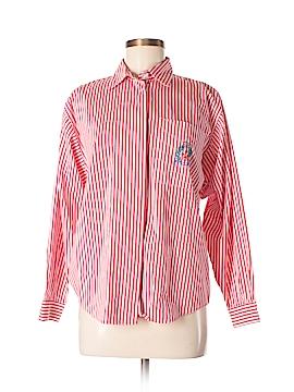 Michelle Stuart Long Sleeve Button-Down Shirt Size 8
