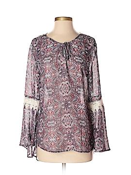 Como Vintage Long Sleeve Blouse Size M