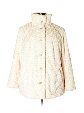 Gallery Faux Fur Jacket Size 1X (Plus)