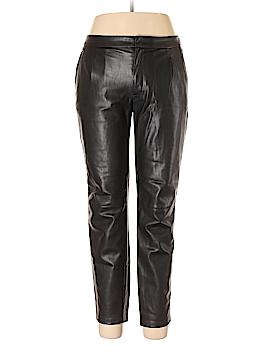 Zara Basic Faux Leather Pants Size L