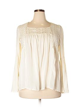 Derek Heart Long Sleeve Blouse Size 1X (Plus)