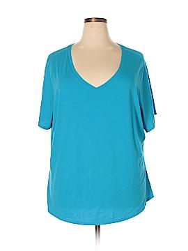 Faded Glory Short Sleeve T-Shirt Size 5X (Plus)