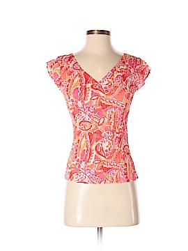 Sigrid Olsen Short Sleeve Blouse Size S
