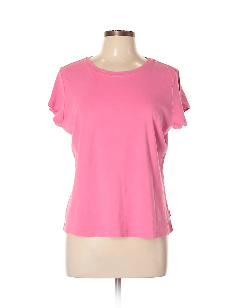 IZOD Women Short Sleeve T-Shirt Size XL