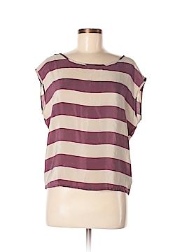 Twenty One Short Sleeve Silk Top Size S