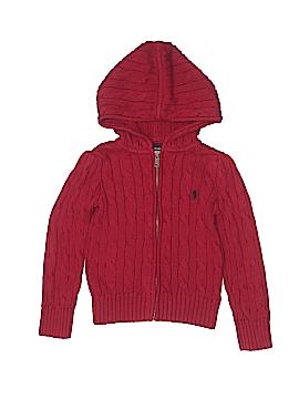 Ralph Lauren Zip Up Hoodie Size 3T