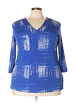 Leota 3/4 Sleeve Top Size 16 (1)