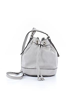 Neiman Marcus Leather Bucket Bag One Size