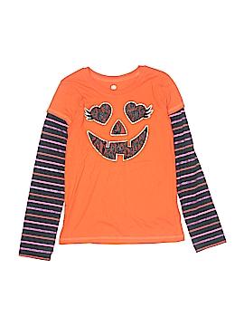 Pumpkin Long Sleeve T-Shirt Size 10 - 12