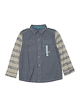 Naartjie Kids Long Sleeve Button-Down Shirt Size X-Large (Kids)