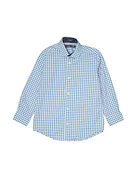 Michael Kors Long Sleeve Button-Down Shirt Size 7