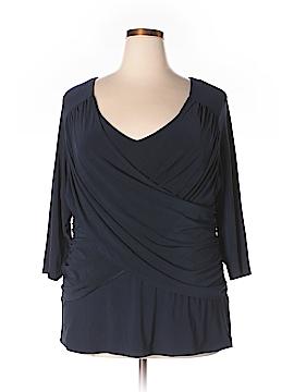 B-slim 3/4 Sleeve Top Size 3X (Plus)