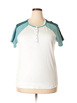 SB Active Short Sleeve Henley Size 1X (Plus)