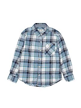 Cherokee Long Sleeve Button-Down Shirt Size 4 - 5